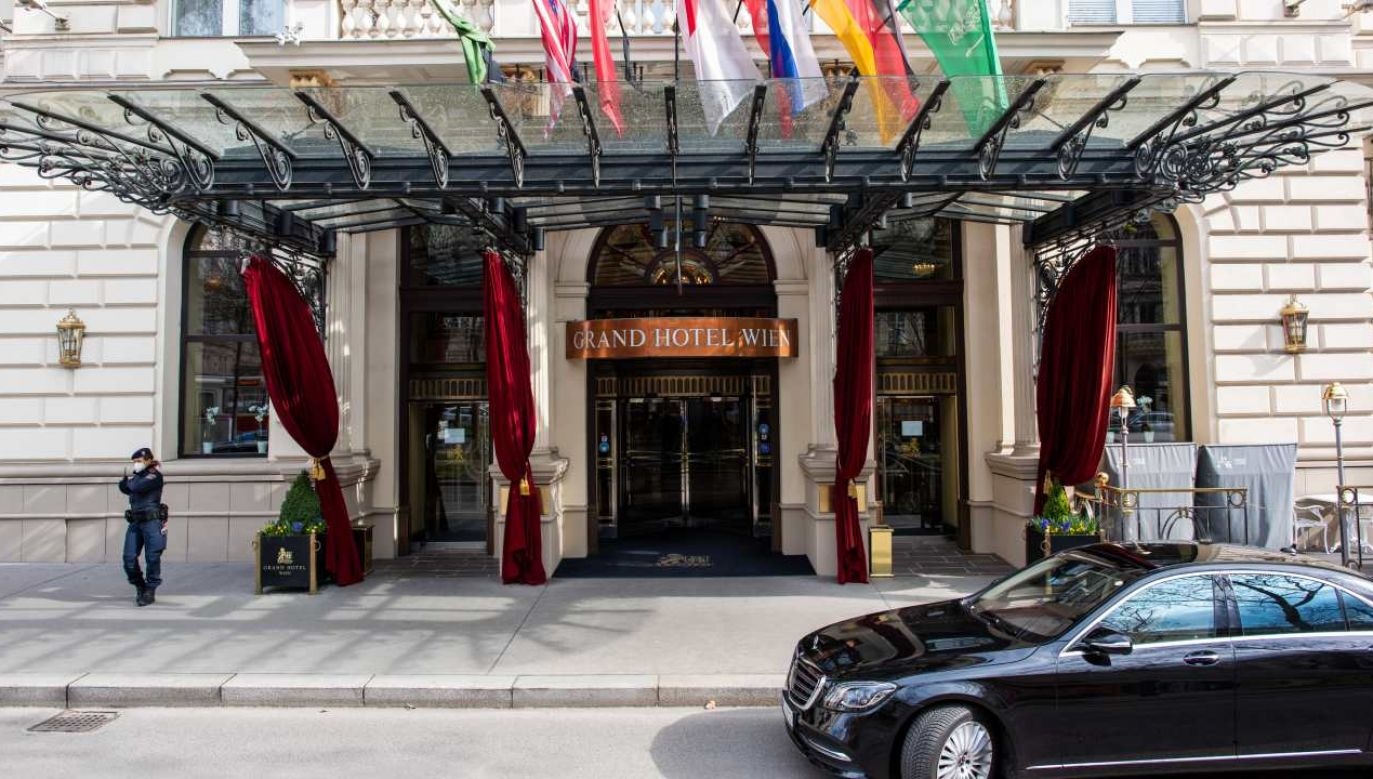 Amerykańsko–irańskie rozmowy toczą się w Grand Hotelu w Wiedniu (fot. Thomas Kronsteiner / Getty Images)