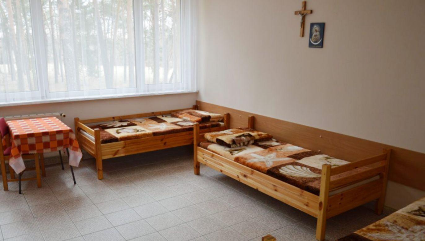Ośrodek Rehabilitacyjno-Wypoczynkowy Caritas w Drzewocinach, w którym bezdomni będą czekać na wyniki testów (fot. Facebook/Caritas Polska)