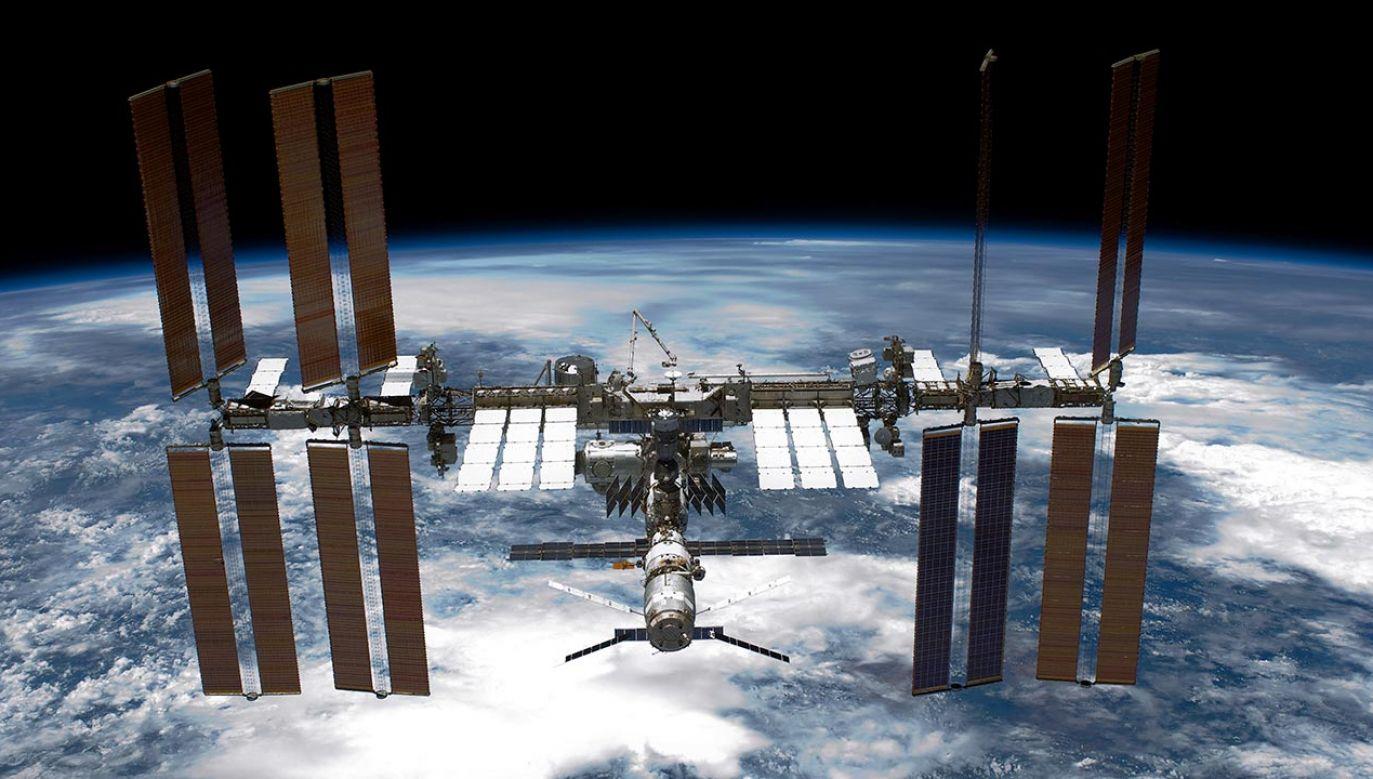 Rosjanie zbadają stan techniczny ISS (fot.  NASA via Getty Images)