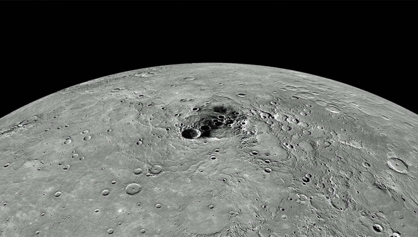 Merkury to planeta znajdująca się najbliżej Słońca (fot. NASA)