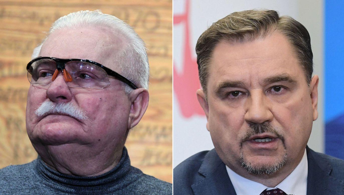 """Przewodniczący NSZZ """"Solidarność"""" (P) skomentował słowa byłego prezydenta (fot. arch.PAP/Adam Warżawa/PAP/Marcin Obara)"""