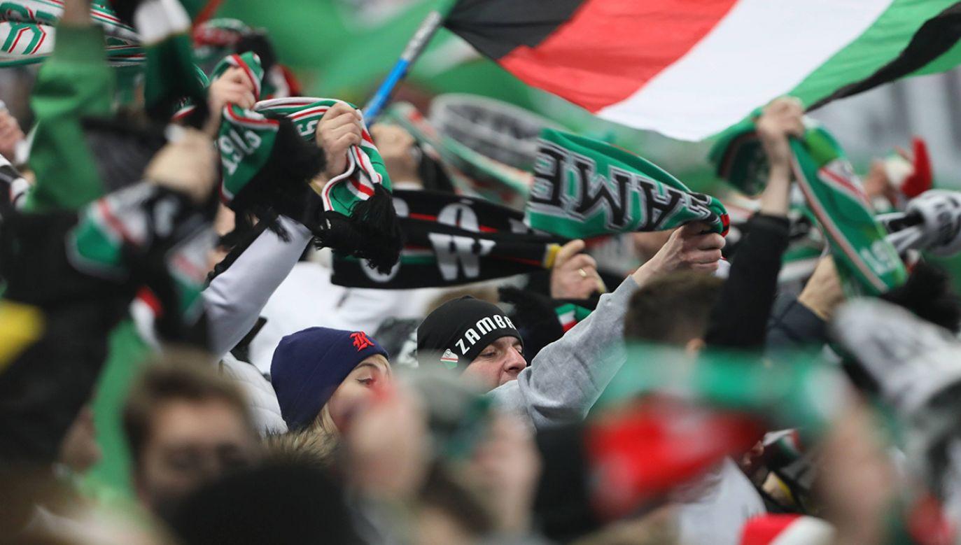 Na mecz z Jagiellonią kibice będą mogli wejść na Trybunę Połnocną (fot. arch. PAP/Leszek Szymański)