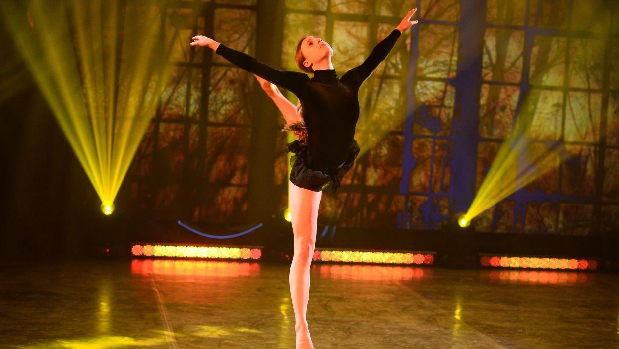 17-letnia Weronika jest uczennicą Ogólnokształcącej Szkoły Baletowej im. Olgi Sławskiej-Lipczyńskiej w Poznaniu (fot. TVP/Jan Bogacz)