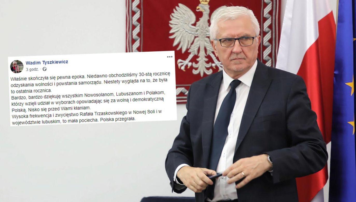 """Senator RP nazywa prezydenta Polski """"pacynką"""" i """"marionetką"""" (fot. PAP/Tomasz Gzell)"""