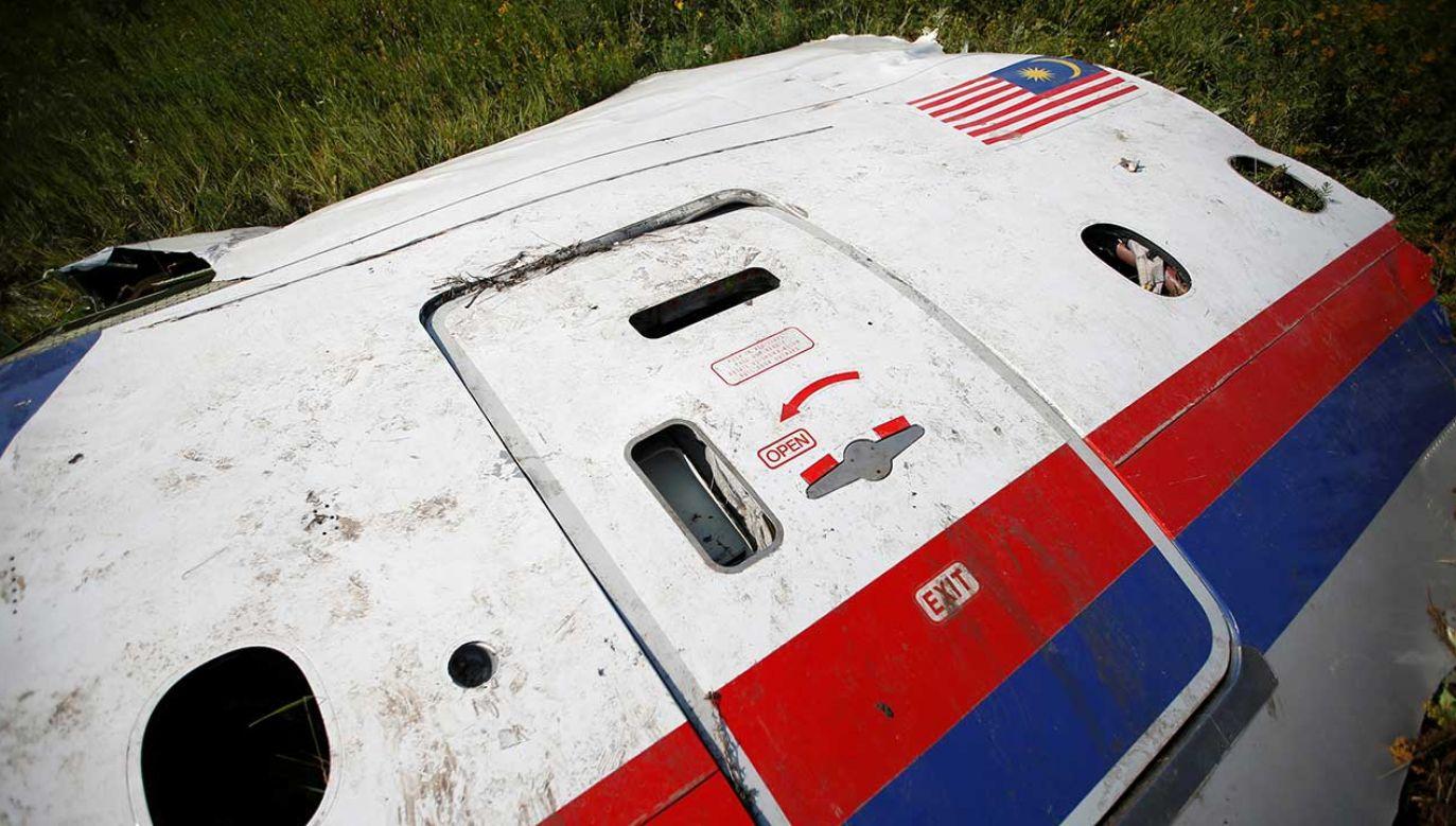 W katastrofie zginęło 298 osób (fot. REUTERS/Maxim Zmeyev)