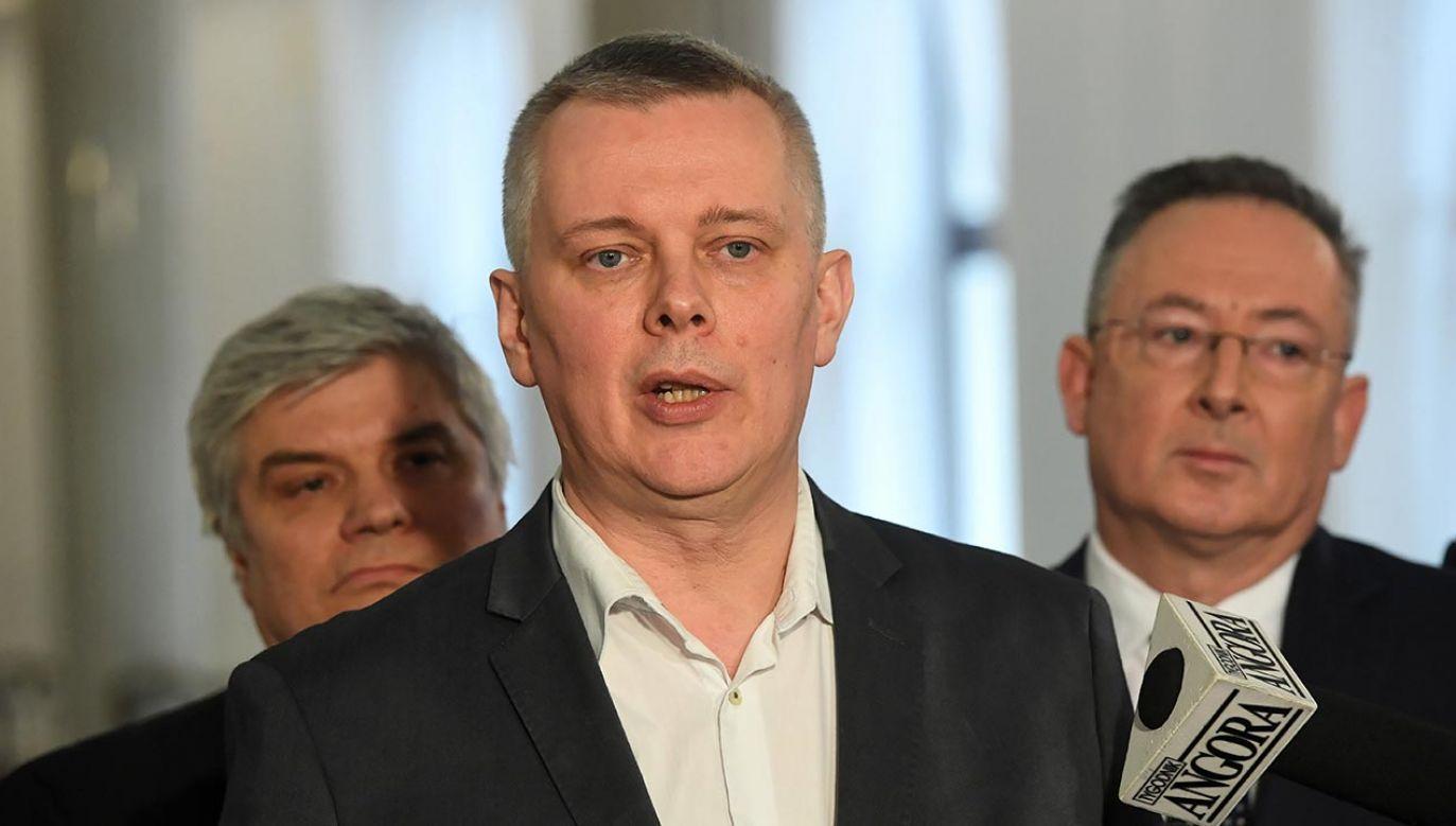 Siemoniak mówił o powrocie Tuska (fot.  PAP/Radek Pietruszka)