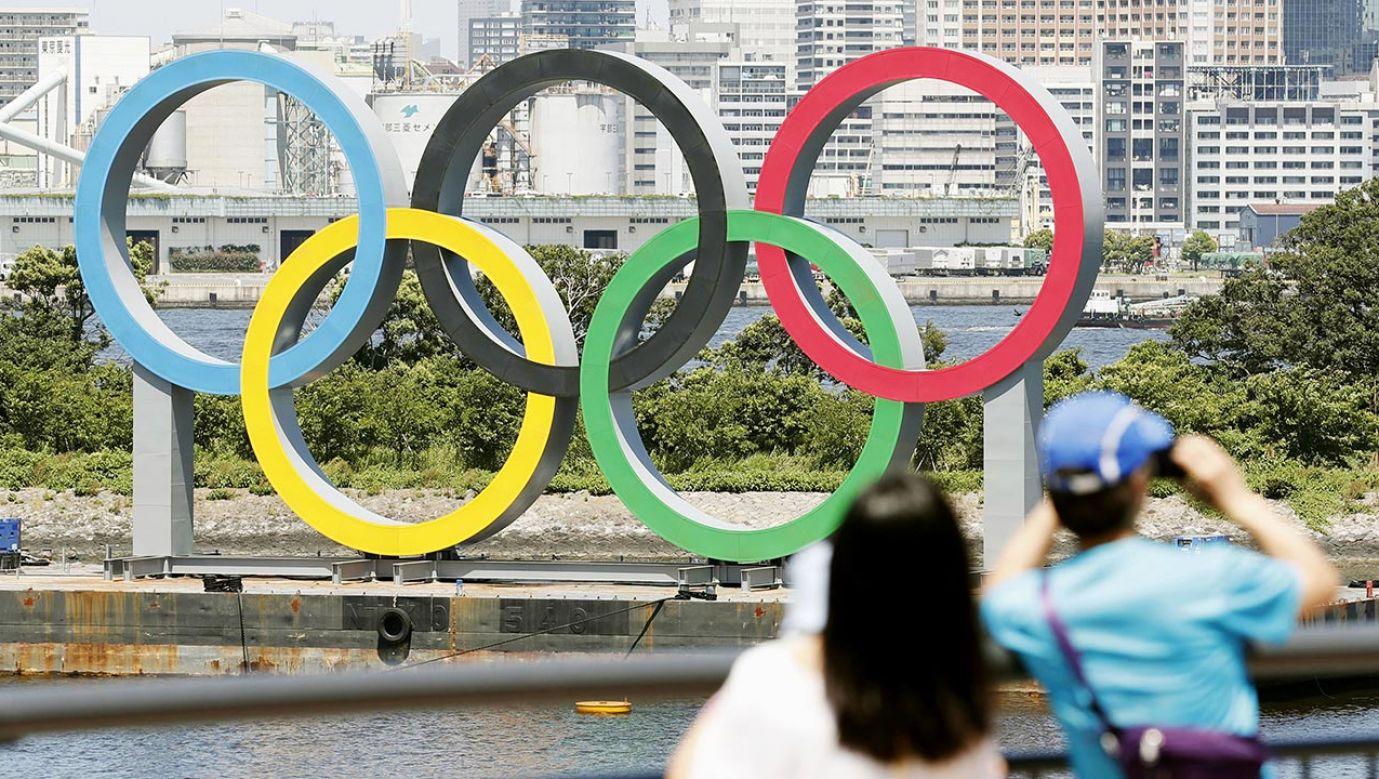 Najważniejsza impreza czterolecia została przełożona na przyszły rok z powodu pandemii koronawirusa (fot. Kyodo News via Getty Images)