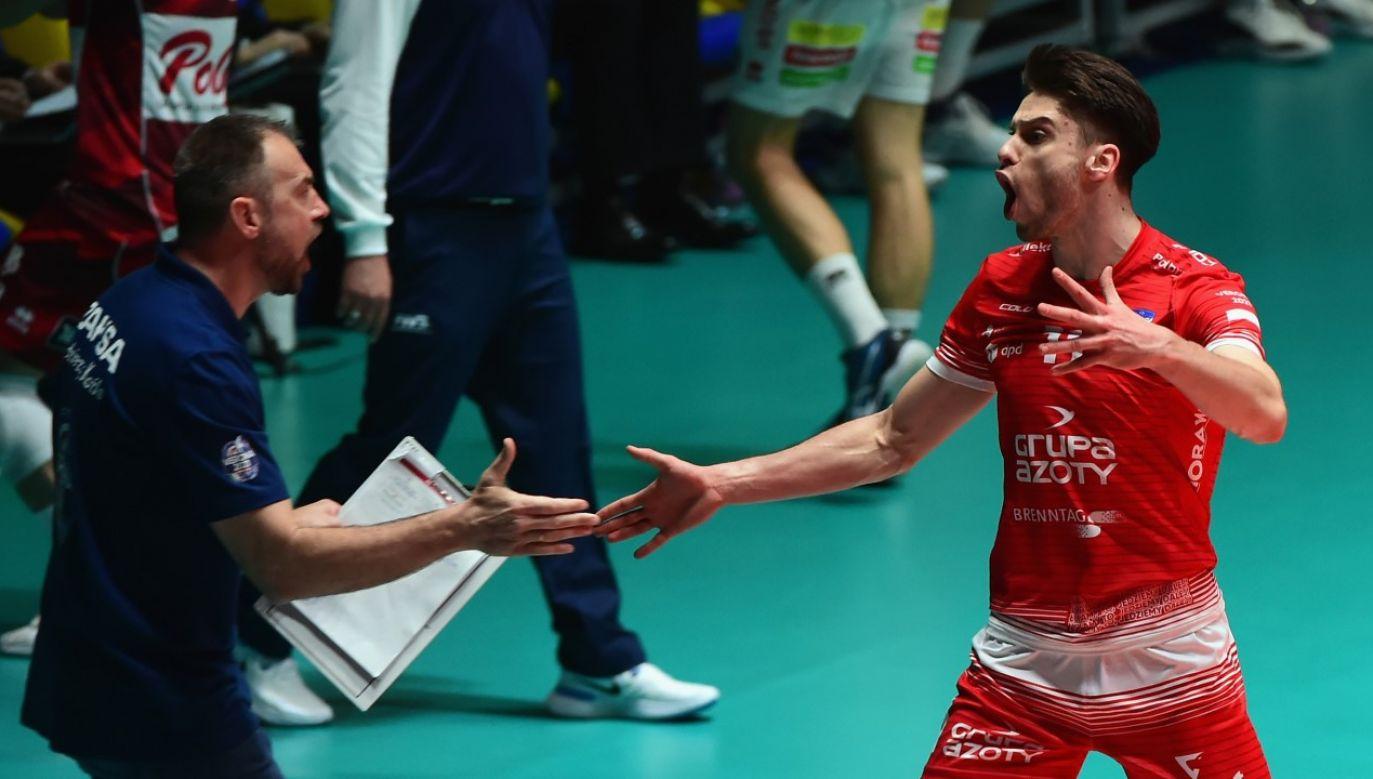Grupa Azoty ZAKSA Kędzierzyn-Koźle wygrała siatkarską Ligę Mistrzów (fot. Pier Marco Tacca/Getty Images)