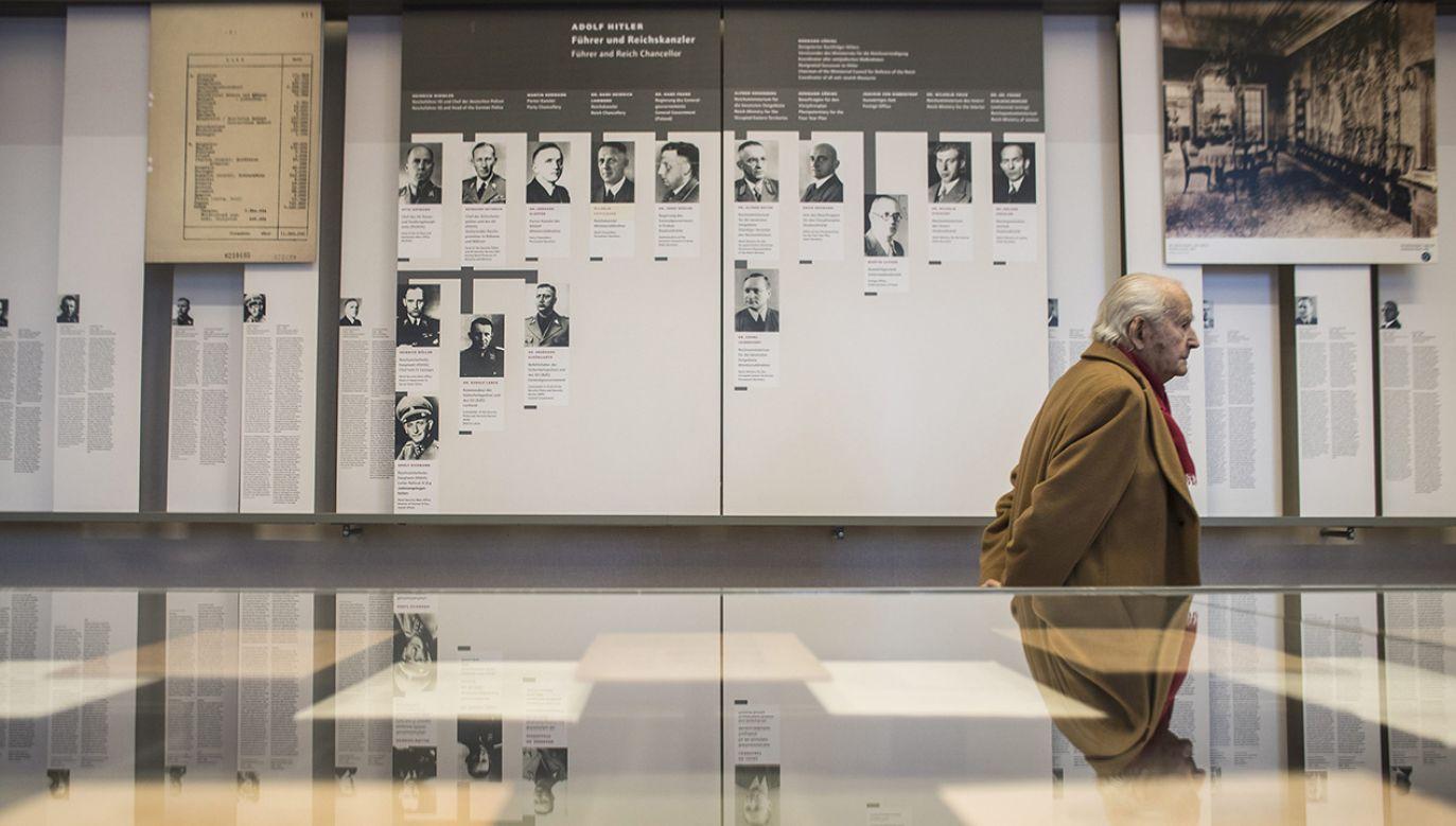 Wystawa jest najnowocześniejszą w Niemczech ekspozycją przystosowaną do potrzeb osób niedowidzących i niewidomych (fot. arch.PAP/EPA/OLIVER WEIKEN)