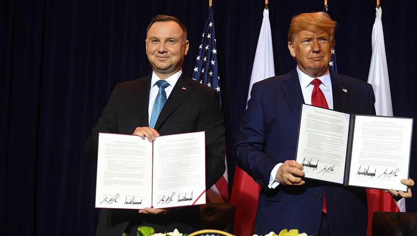 Andrzej Duda jest od niedzieli w USA (fot. PAP/Radek Pietruszka)