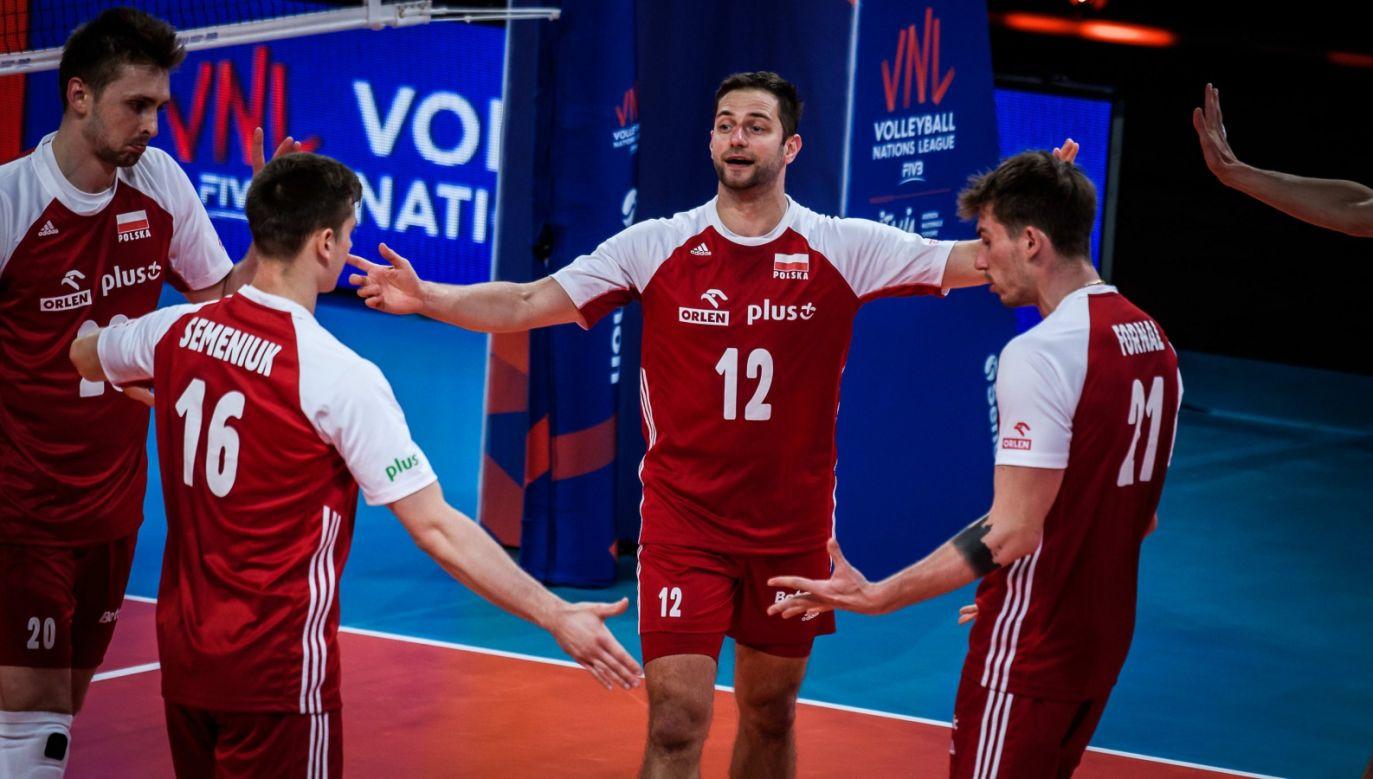 Reprezentacja Polski siatkarzy (fot. FIVB)
