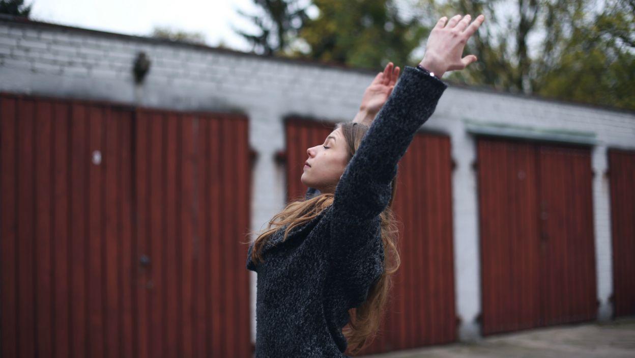 Taniec pomaga Weronice znaleźć spokój i koncentrację (fot. Z. Gąsiorowska)