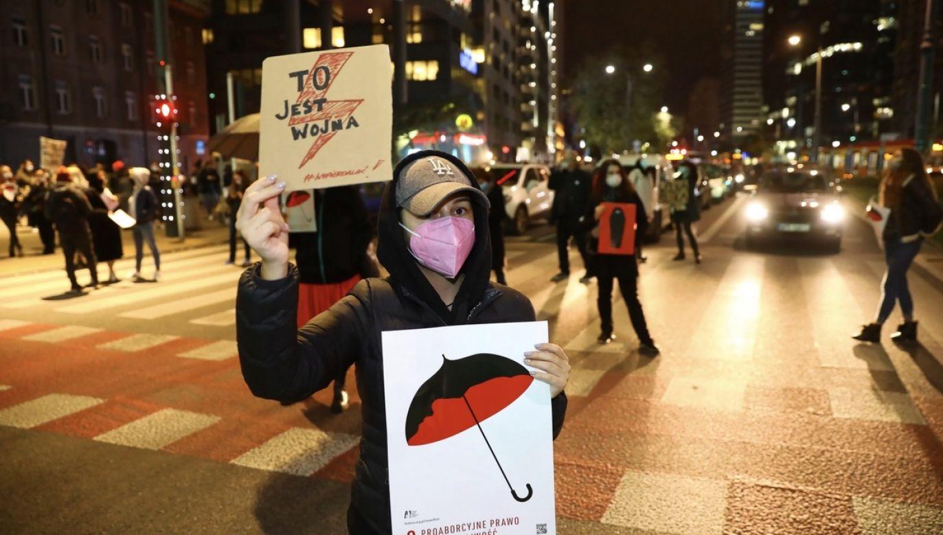 Stacja zadeklarowała swoje poparcie dla protestów (fot. PAP/Rafał Guz)