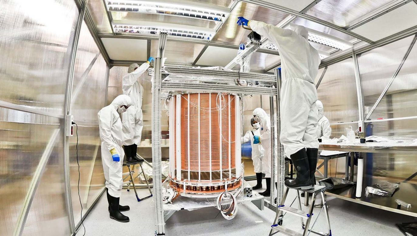 Naukowcy od dawna poszukują dowodów na istnienie ciemnej materii (fot. Xenon Collaboration)