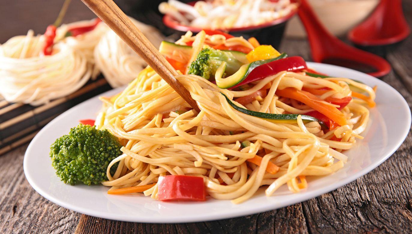 Przeciętnie Polak zjada ok. 5,6 kg makaronu rocznie (fot. Shutterstock/ margouillat photo)