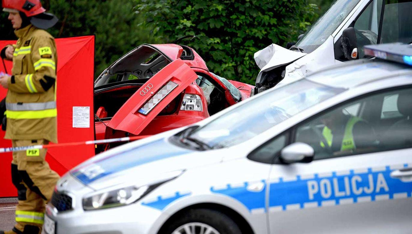 W ubiegłym roku podczas wakacji 74 proc. wypadków drogowych miało miejsce przy dobrej pogodzie (fot. arch. PAP/Darek Delmanowicz)