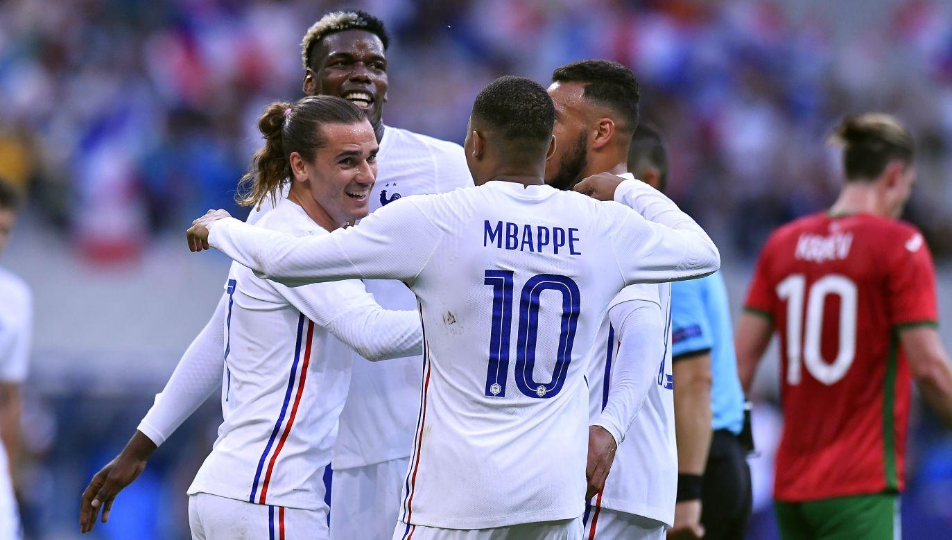 Francuzi mają wszystko, bo do tytułu mistrzów świata dołożyć też mistrzostwo Europy (fot. Aurelien Meunier/Getty Images)