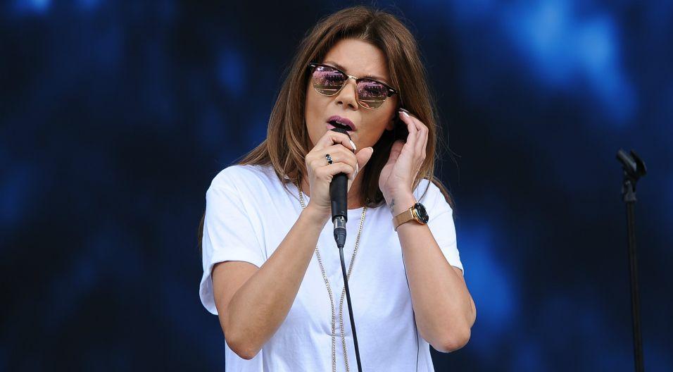 Po chwilowych problemach ze zdrowiem do śpiewania powróciła Edyta Górniak (fot. N. Młudzik/TVP)