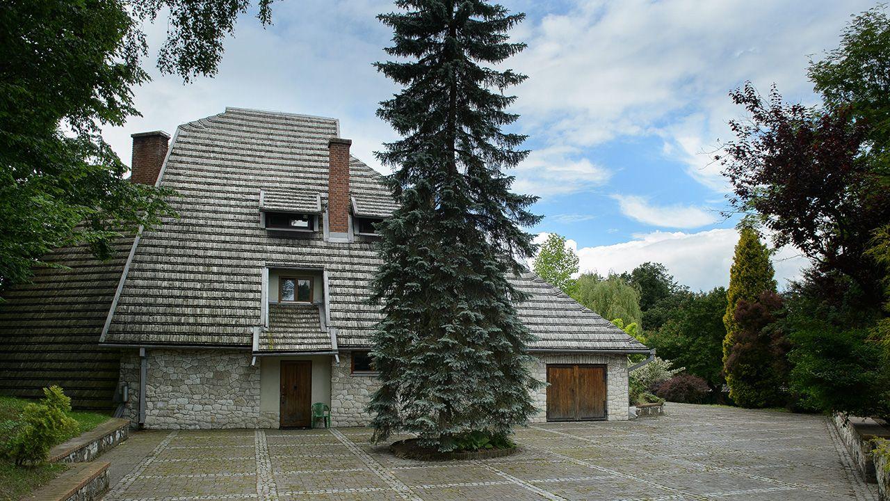 Na stronie internetowej CBA udostępniło materiały ze śledztwa dotyczącego willi (fot. arch. PAP/Wojciech Pacewicz)