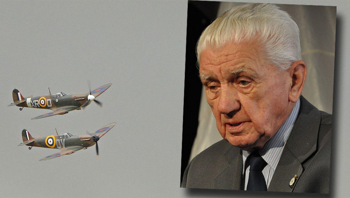 Emil Bocek odbył 26 lotów bojowych w barwach RAF (fot. Wiki 3.0/2.0/Ben Skála/Alan Wilson)