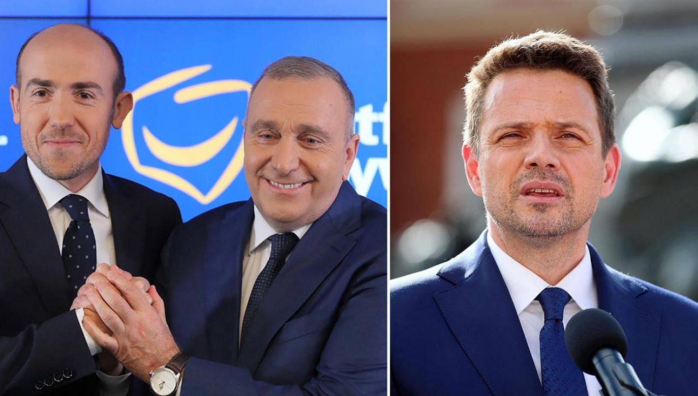 """Partia wyznaczyła już zadanie """"niezależnemu"""" kandydatowi (fot.  PAP/Paweł Supernak, Łukasz Gągulski)"""