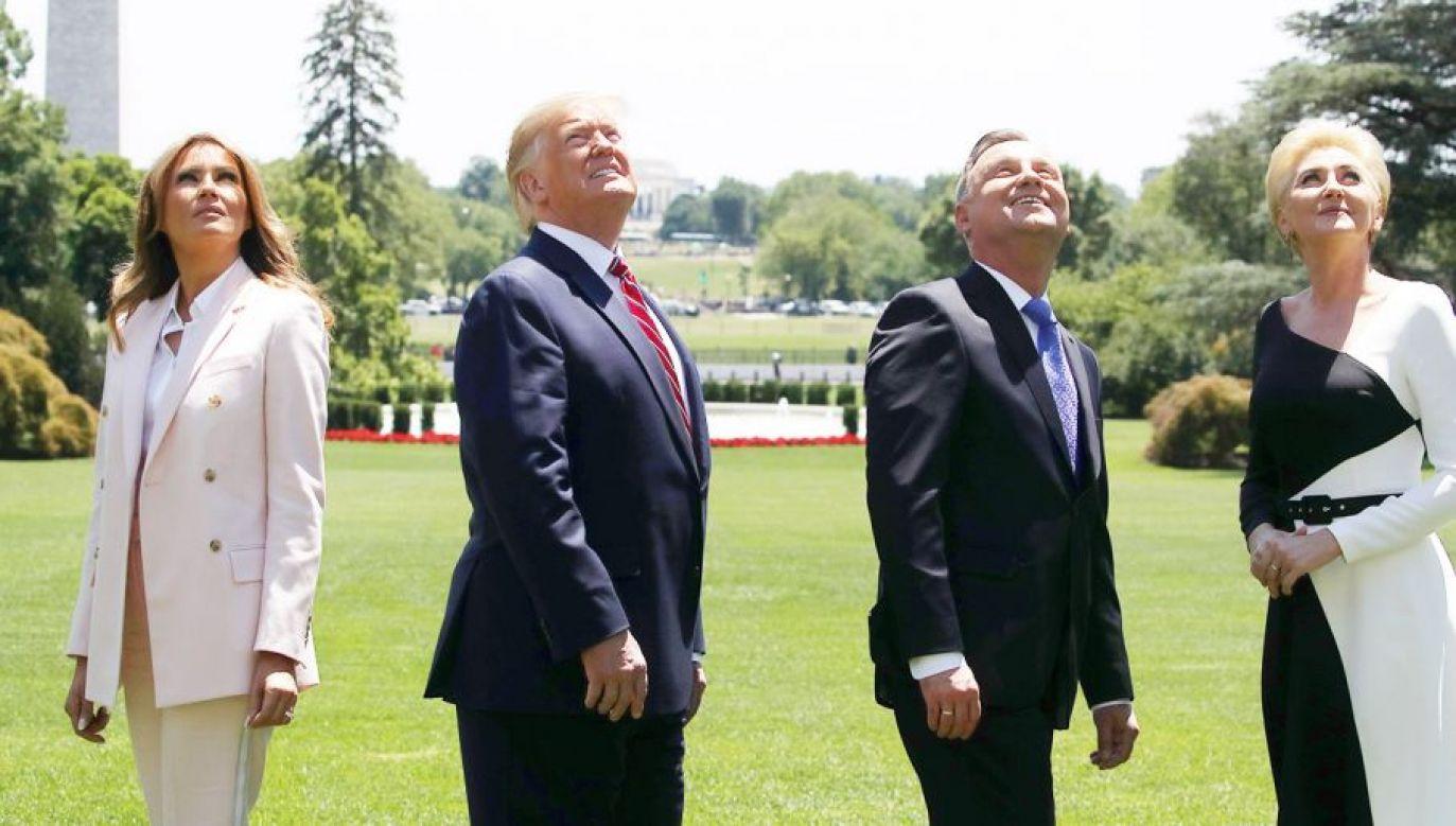 – Prezydent Duda doprowadził do tego, że dowództwo amerykańskiej dywizji jest w Polsce – mówi szef MON Mariusz Błaszczak (fot. Mark Wilson/Getty Images)