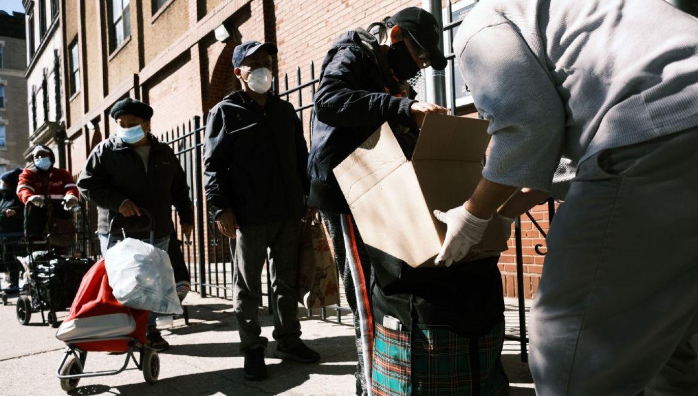 Zaprzestanie pomocy pod koniec lata nasiliło biedę zwłaszcza wśród mniejszości oraz dzieci (fot. Spencer Platt/Getty Images)