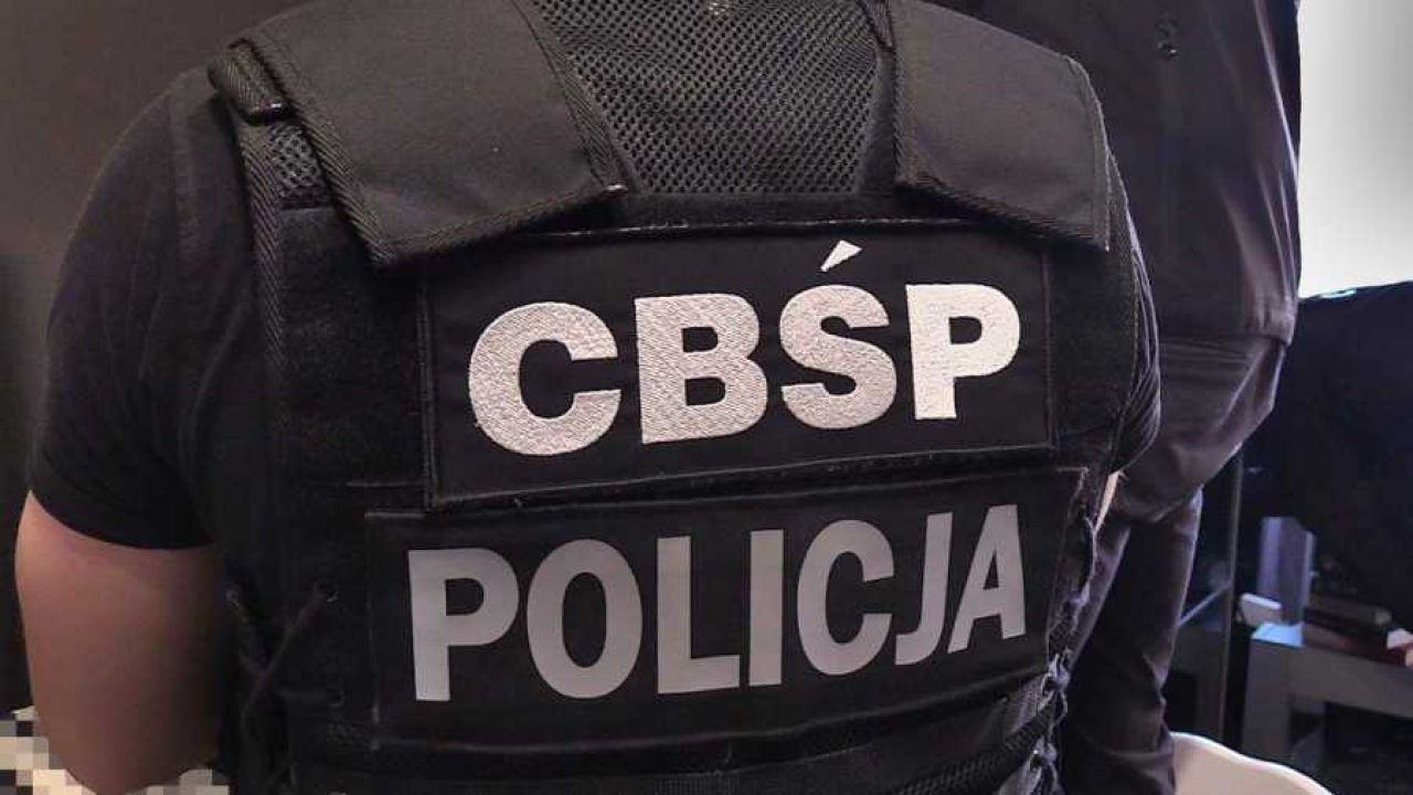 Policjanci CBŚP uderzyli w gang pseudokibiców (fot. CBŚP)