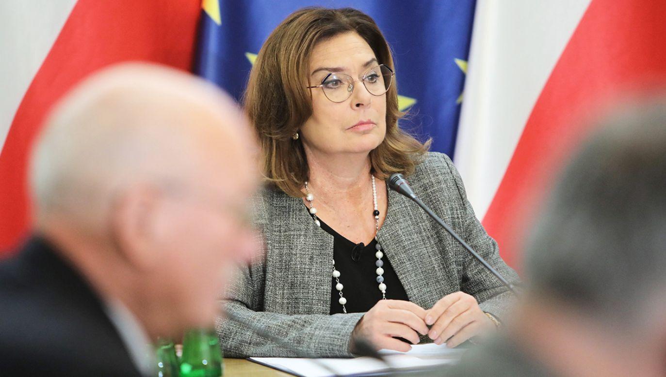 Działaczka skrytykowała kandydatkę PO na prezydenta (fot. PAP/Wojciech Olkuśnik)