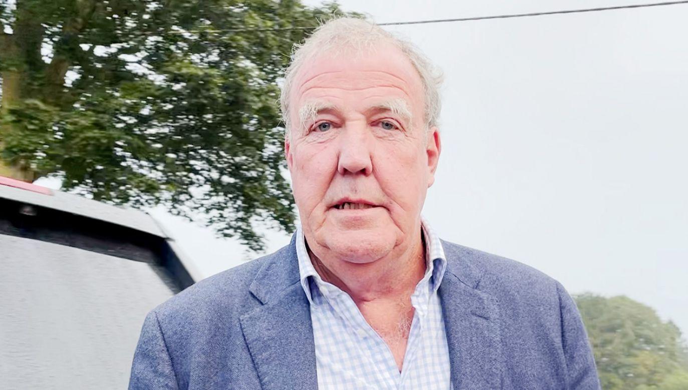 Jeremy Clarkson regularnie krytykuje rząd w Londynie (fot. PA Video/PA Images via Getty Images)