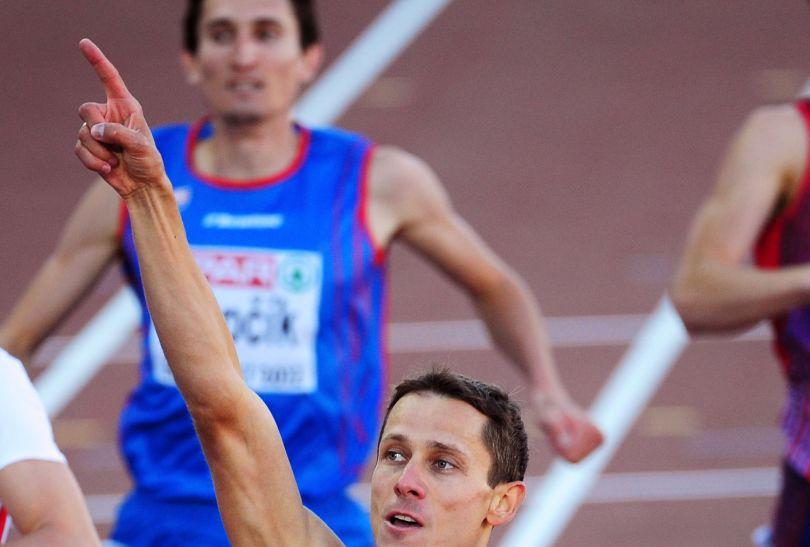 Jurij Borżakowski nowym mistrzem Europy (fot. Getty Images)