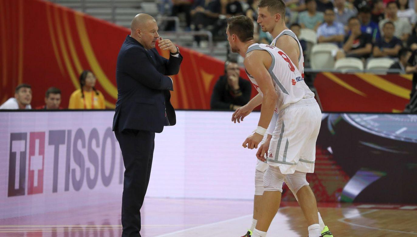 Mike Taylor, Adam Waczyński i Mateusz Ponitka (fot. Getty Images)