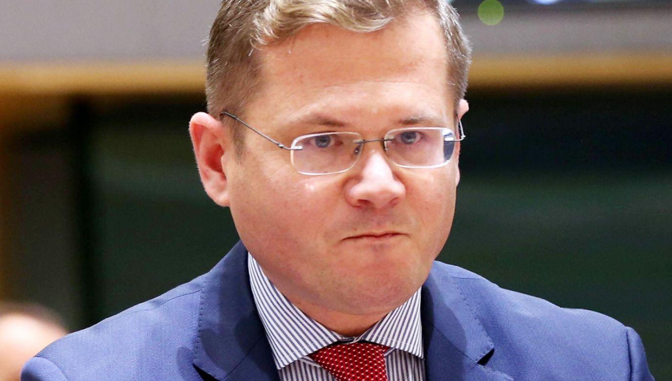 Stały Przedstawiciel RP przy UE Andrzej Sadoś (fot. PAP/Abaca)
