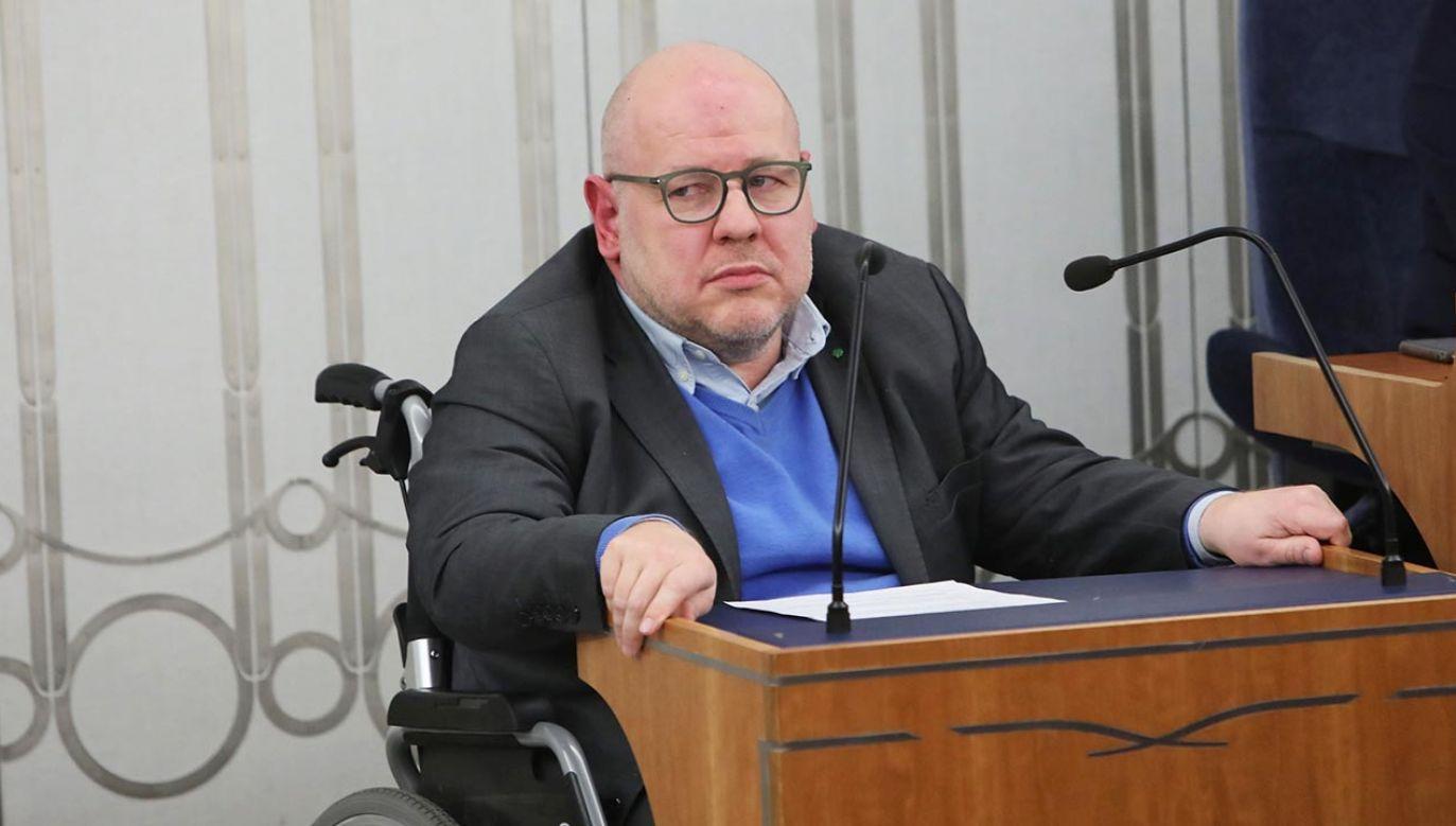 Jan Filip Libicki jest senatorem PSL (fot. PAP/Wojciech Olkuśnik)