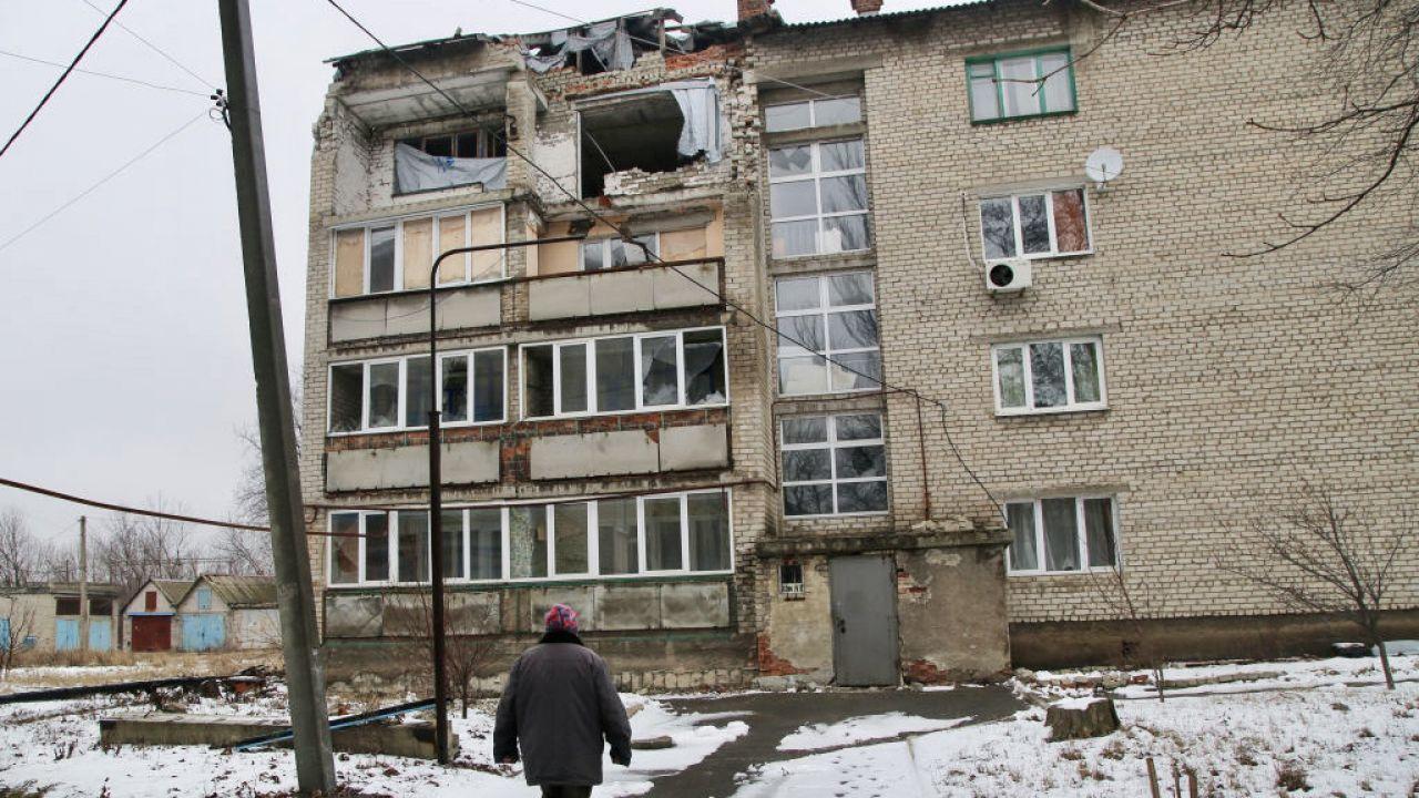 Rośnie liczba poległych ukraińskich obrońców w Donbasie (fot. Valentin Sprinchak\TASS\Getty Images)