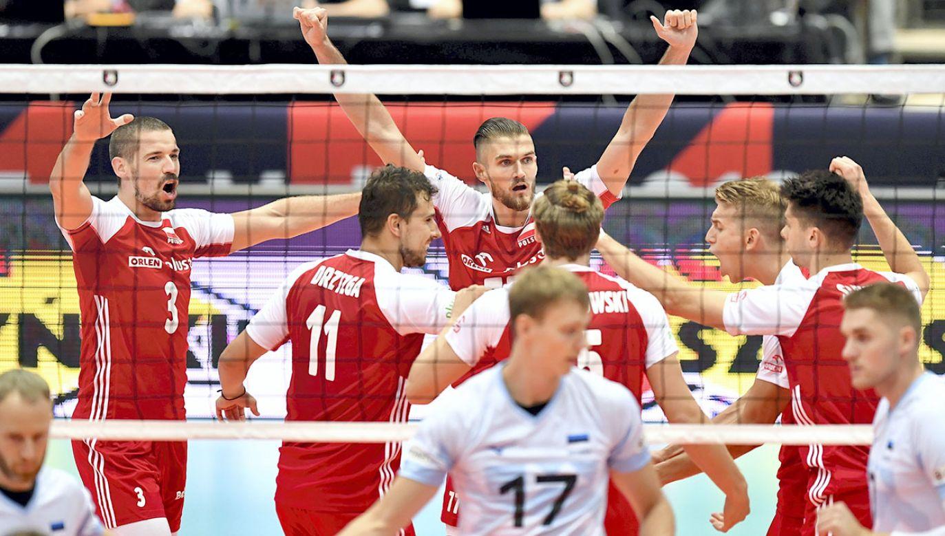 Polska wygrała z Estonią (fot. PAP/M.Kulczynski)