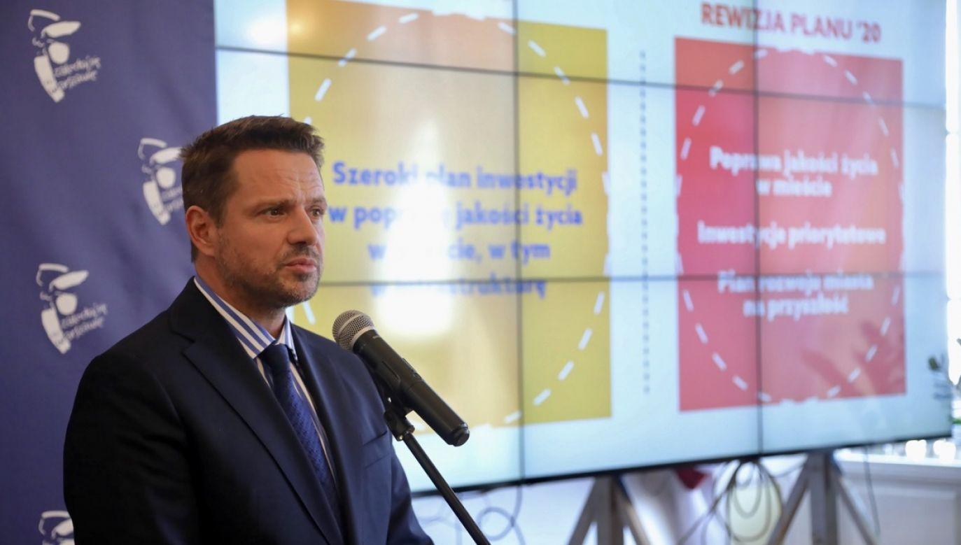 Rafał Trzaskowski (fot. PAP/Wojciech Olkuśnik)