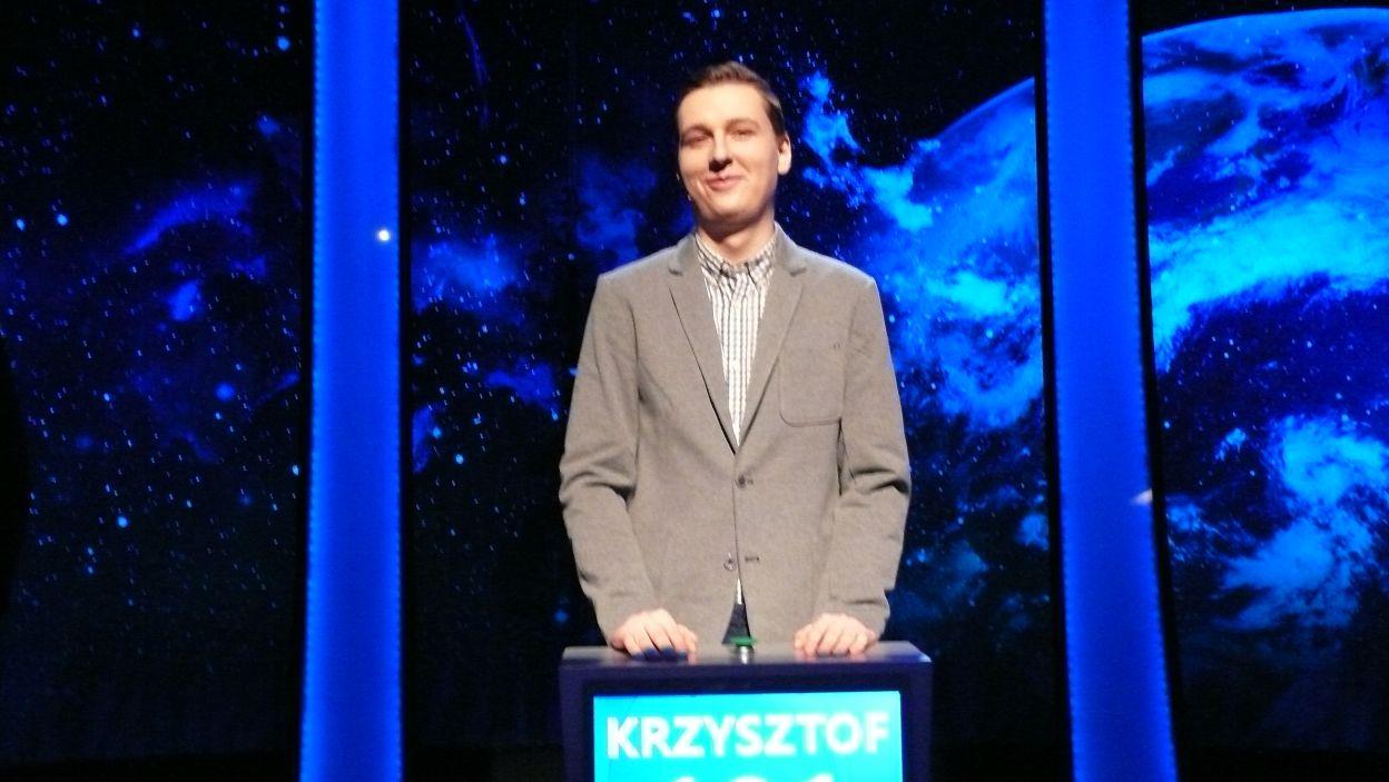 Krzysztof Mirowski - zwycięzca 15 odcinka 110 edycji