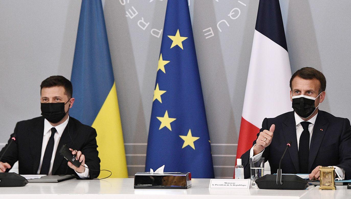 Rosja została wezwana do wycofania wojsk z ukraińskiej granicy (fot. PAP/EPA/ANNE-CHRISTINE POUJOULAT / POOL)