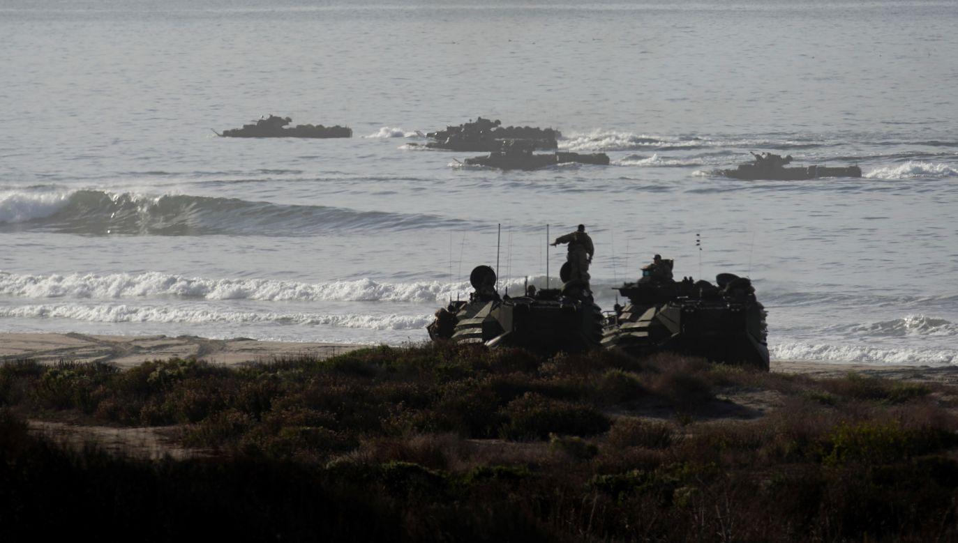 Wszyscy marines służyli w 15. Jednostce Ekspedycyjnej w Camp Pendleton (fot. REUTERS/Mike Blake)