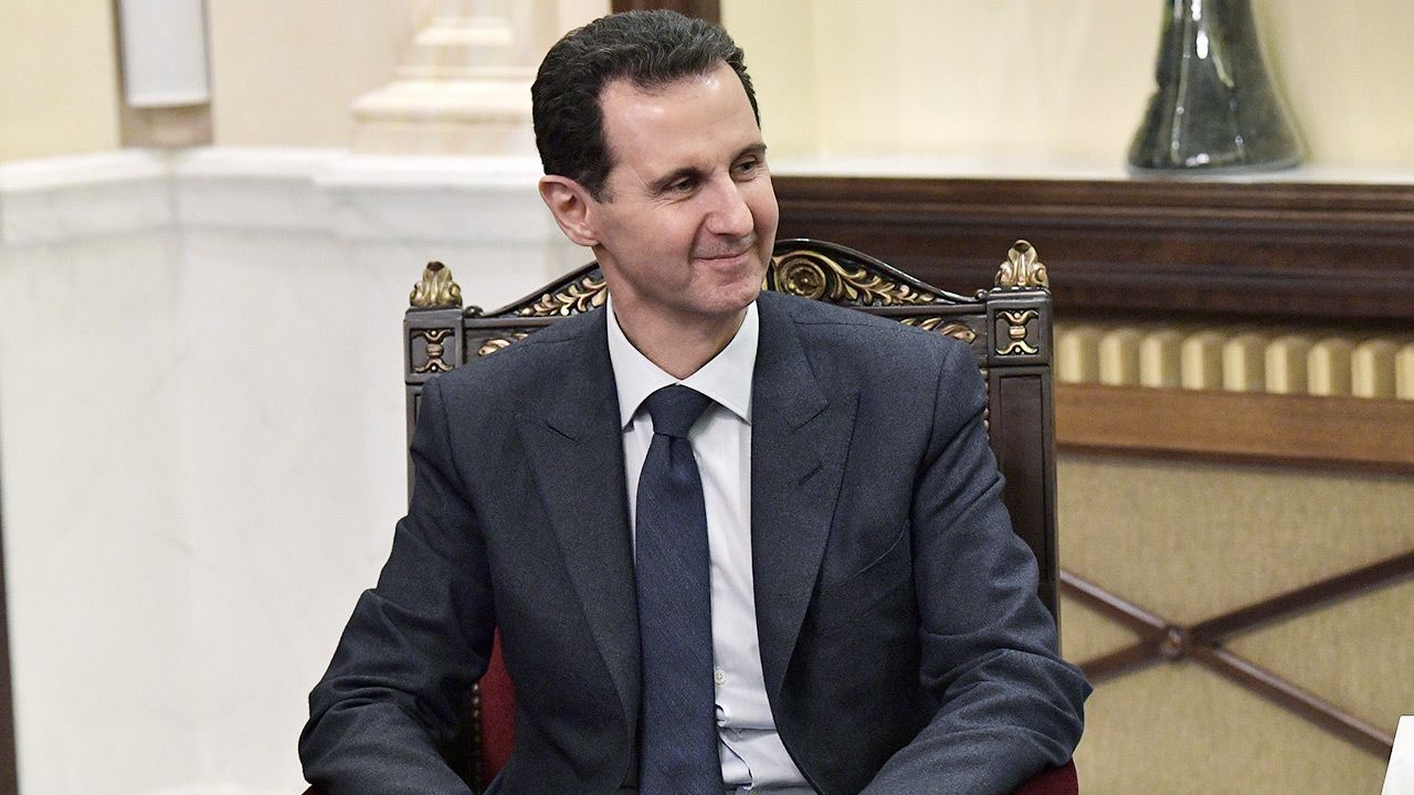 Baszar el-Asad powierzył misję utworzenia rządu dotychczasowemu premierowi (fot. Alexei Nikolsky\TASS via Getty Images)