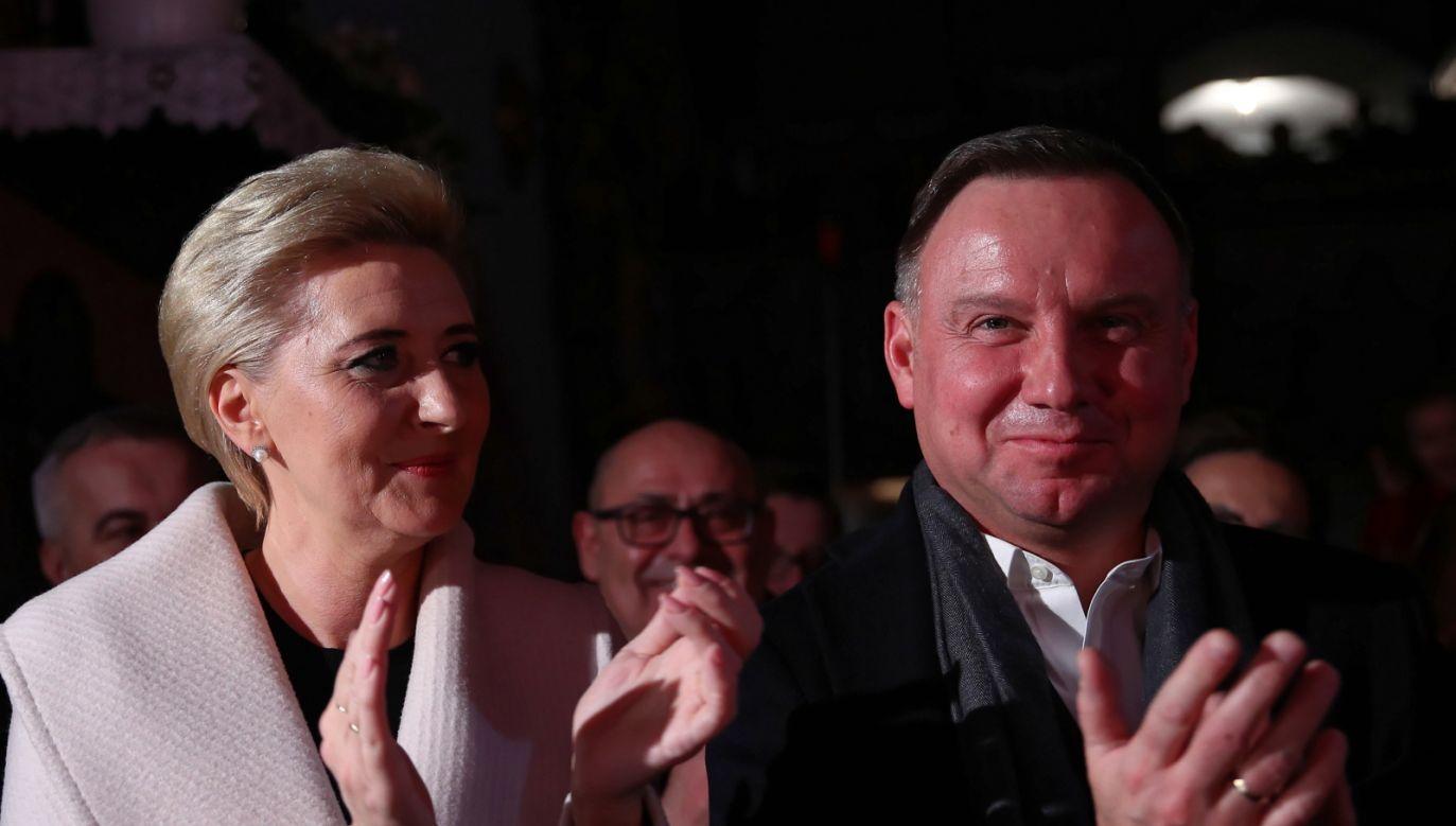Okażmy serdeczność i dobroć wszystkim, którzy być może na co dzień jej nie doświadczają – apelował prezydent Andrzej Duda (fot. PAP/Łukasz Gągulski)