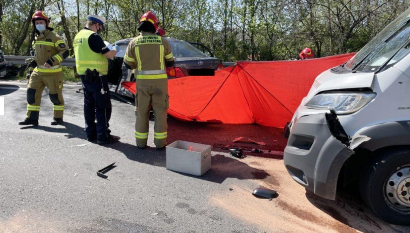 Prof. Leszek Miszczyk zginął w wypadku samochodowym (fot. Policja)
