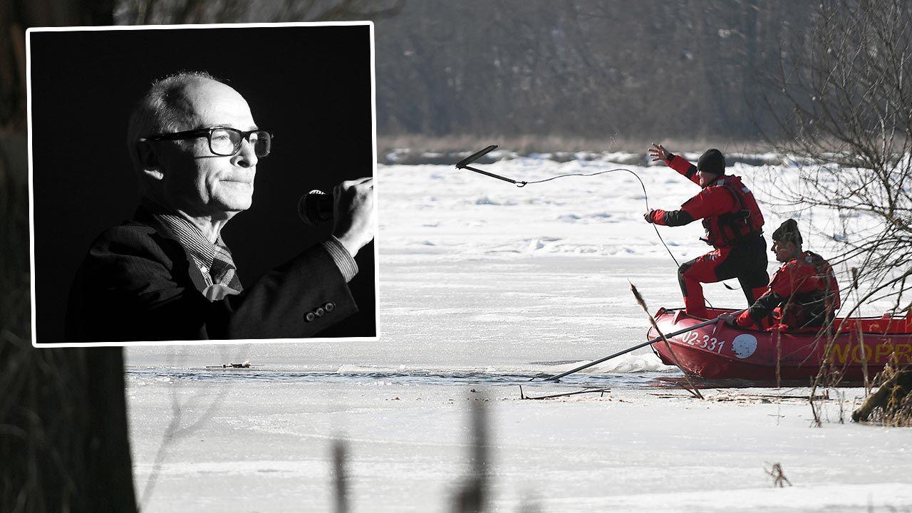 Jan Lityński miał 75 lat; zginął ratując psa (fot. PAP/Marcin Obara, Andrzej Grygiel)