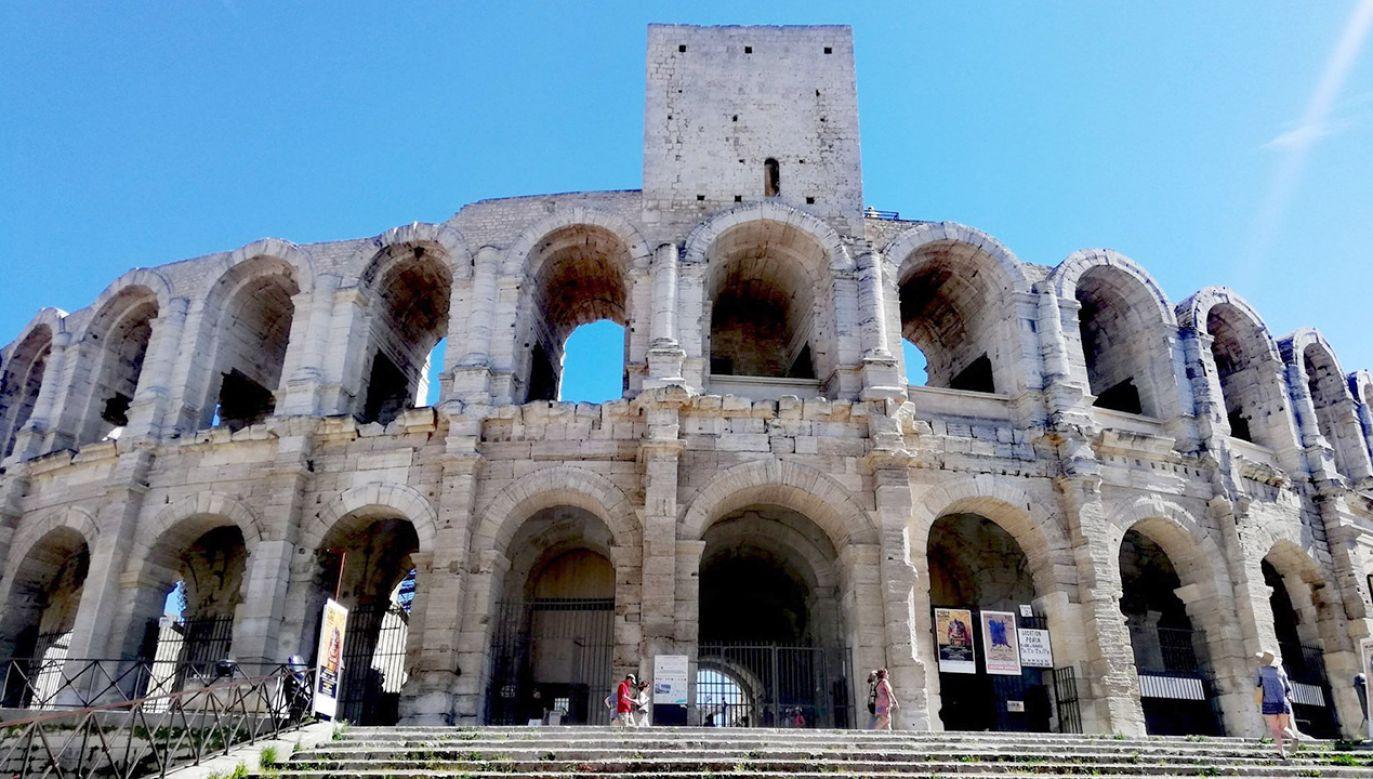 Południe Francji ma do zaoferowania wiele rzymskich zabytków  (fot. Archiwum prywatne)