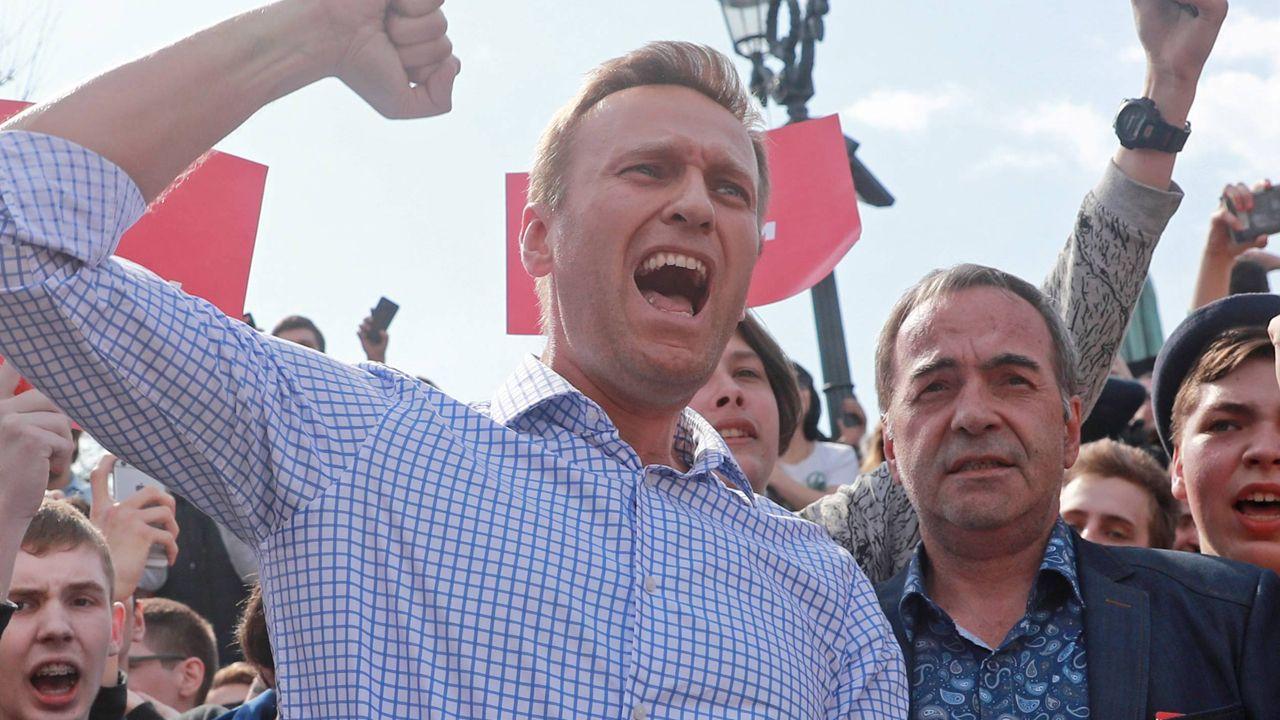 Opozycyjny polityk startuje w wyborach prezydenckich w Rosji  (fot. arch. PAP/EPA/Sergei Fadeichev)