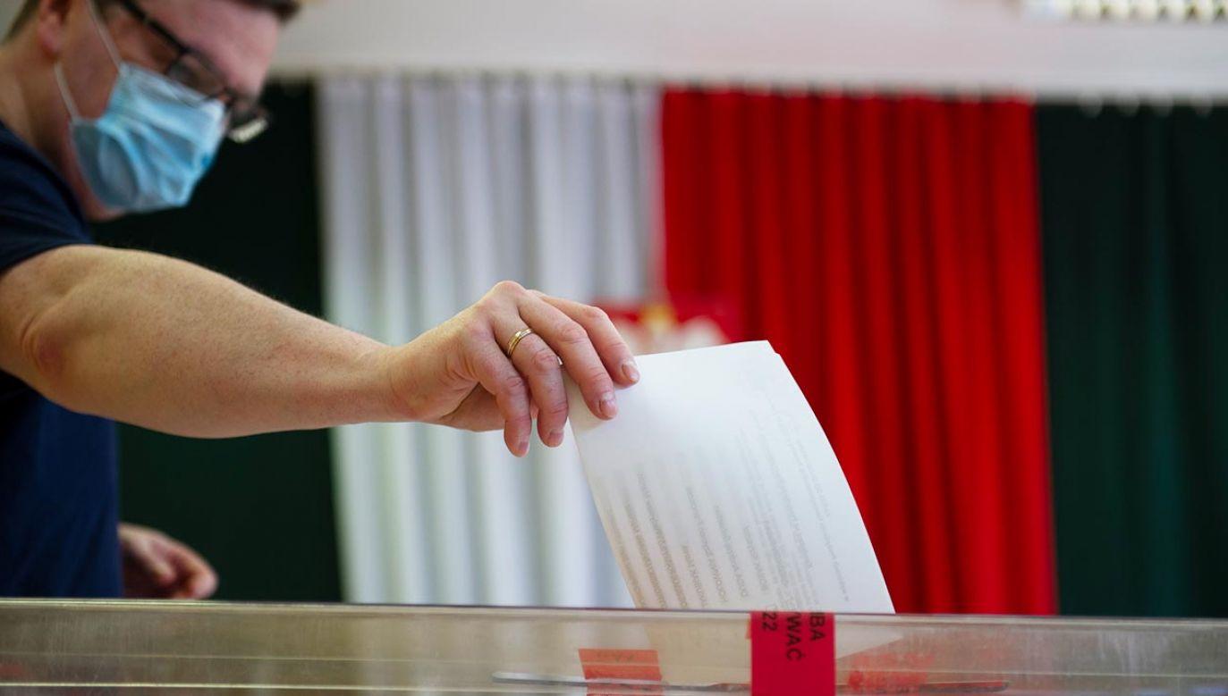 II tura wyborów prezydenckich już w niedzielę 12 lipca (fot.  Aleksander Kalka/NurPhoto via Getty Images)
