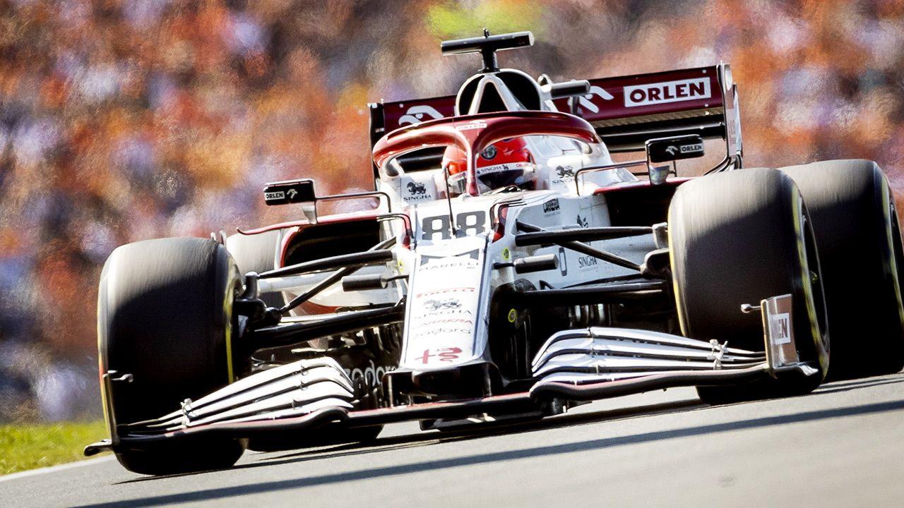 Robert Kubica zajął 15. miejsce w GP Holandii (fot. ANP Sport via Getty Images)
