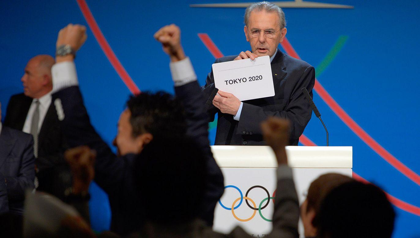 Ceremonia otwarcia igrzysk w Tokio odbędzie się 24 lipca br. (fot. Fabrice Coffrini /Pool/Getty Images)