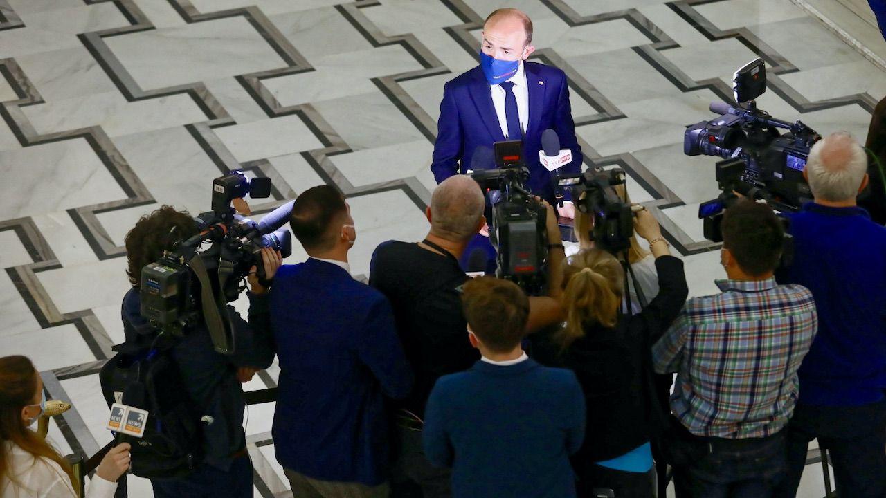 Taktyka PO miała doprowadzić do zmiany rządu (fot. PAP/Rafał Guz)